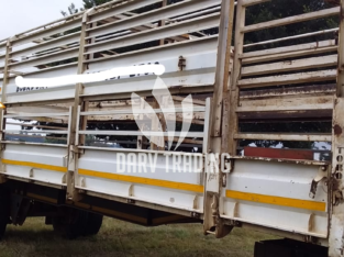 8m Toro Cattle Trailer