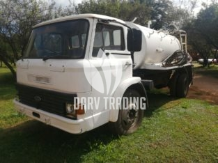Ford 6000lt Water Tanker With Pump