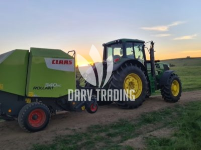 2020 Model Claas Rollant 340 Rope and Net Baler