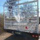 Strongly Built Double Axle Cattle Wagon for sale